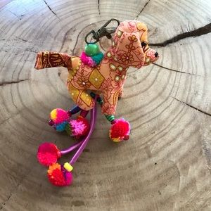 DOG LOVER -INDIA BLESSING  KEY CHAIN